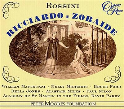 Rossini: Ricciardo & Zoraide