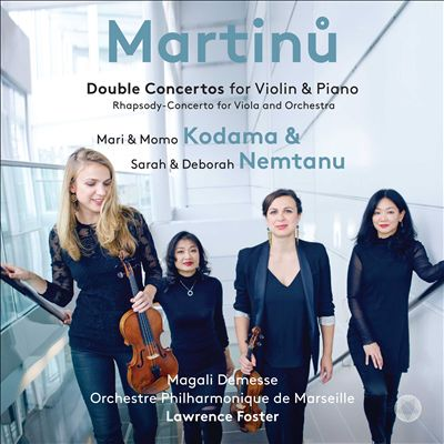 Martinu: Double Concertos for Violin & Piano; Rhapsody-Concerto for Viola and Orchestra