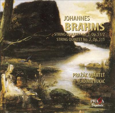 Brahms: String Quartet No. 2; String Quintet No. 2