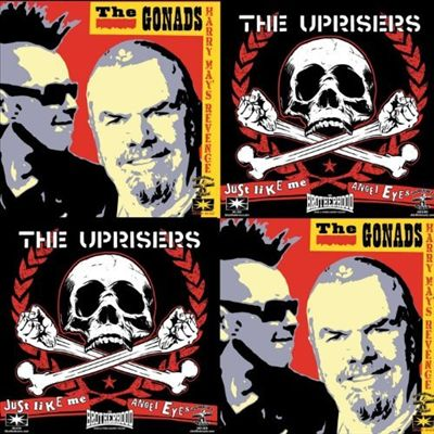 Uprisers/Gonads Split