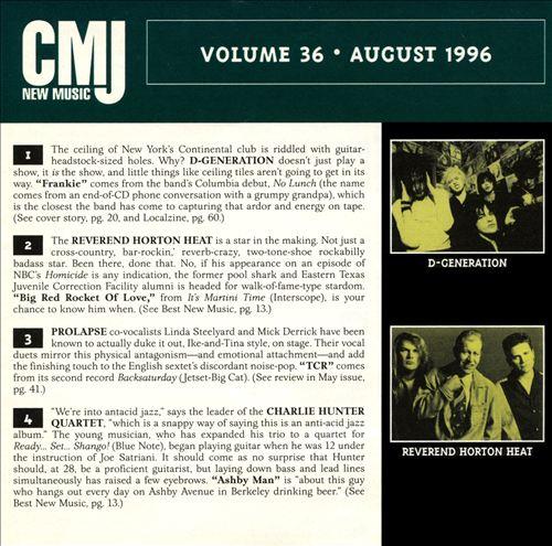 CMJ New Music, Vol. 36
