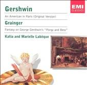 "Gershwin: An American In Paris (Original Version); Grainger: Fantasy on George Gershwin's ""Porgy and Bess"""