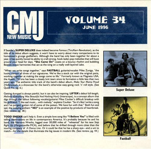 CMJ New Music, Vol. 34