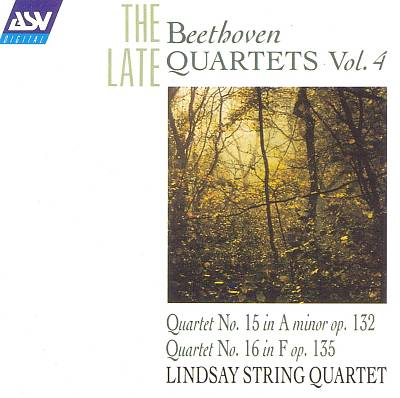 Beethoven The Late Quartets, Vol.4
