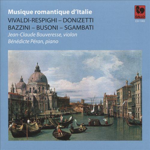 Musique Romantique d'Italie