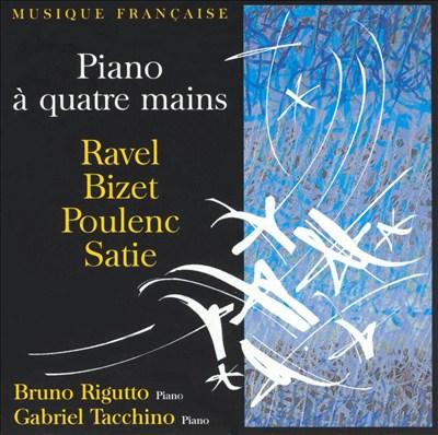 Ravel, Bizet, Poulenc, Satie: Piano à quatre mains