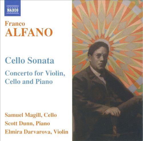 Alfano: Cello Sonata