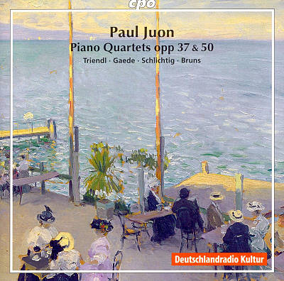 Paul Juon: Piano Quartets, Opp. 37 & 50