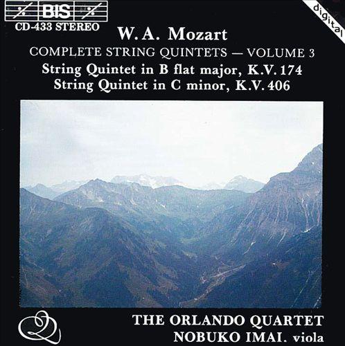 Mozart: Complete String Quintets, Vol. 3