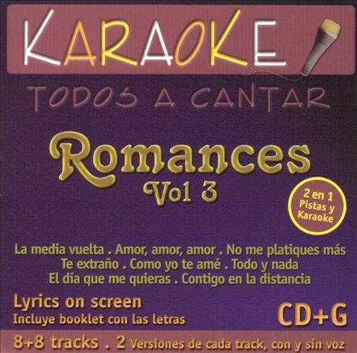 Todos A Cantar: Romances, Vol. 3