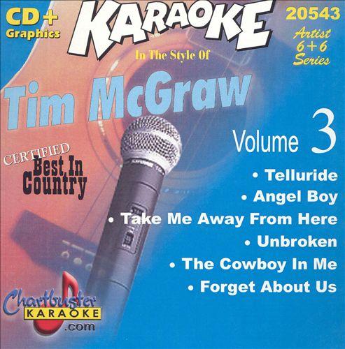 Chartbuster Karaoke: Tim McGraw, Vol. 3