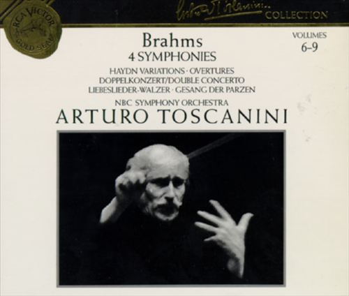 Brahms: 4 Symphonies; Haydn Variations; Overtures; Double Concerto; Libeslieder-Walzer