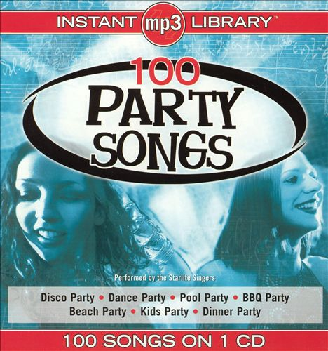 100 Party Songs [MP3]