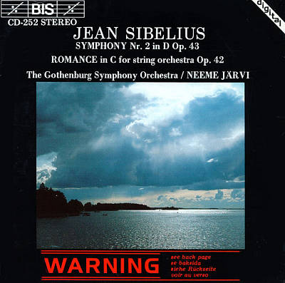 Sibelius: Symphony No. 2; Romance in C