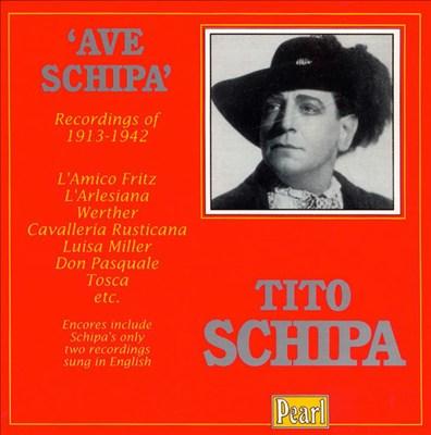 Tito Schipa 1913 - 42 Recordings