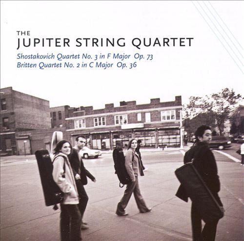 Shostakovich: Quartet No. 3; Britten: Quartet No. 2