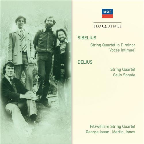 Sibelius: String Quartet; Delius: String Quartet; Cello Sonata