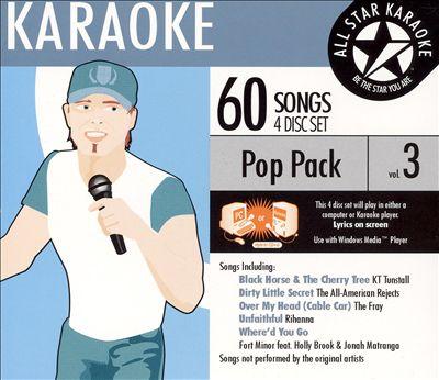 Karaoke: Pop Pack, Vol. 3