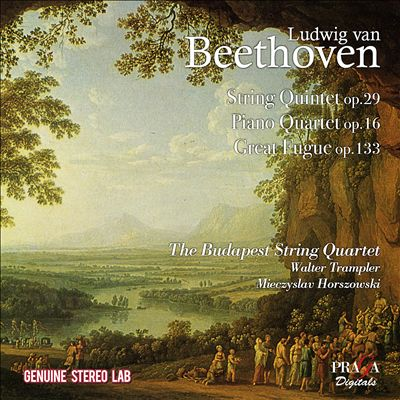 Beethoven: Heroic Diptych for string Quartet