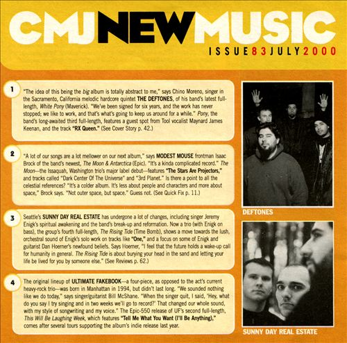 CMJ New Music, Vol. 83