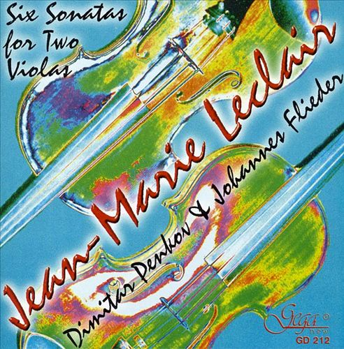 Leclair: Sonatas for two Violas Op. 12