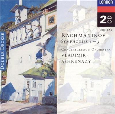 Rachmaninov: Symphonies 1-3