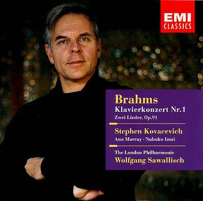 Brahms: Piano Concerto No. 1; Two Songs, Op. 91