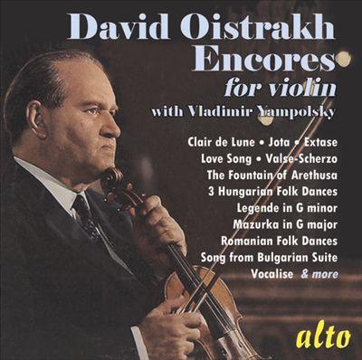 Encores for Violin