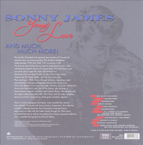 Young Love: The Complete Recordings: 1952-62