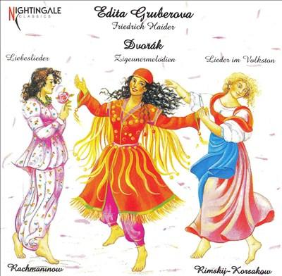 Dvorák: Liebeslieder; Zigeunermelodian; Lieder im Volkston