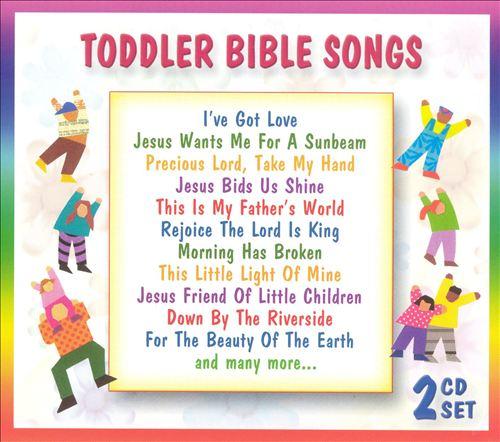 Toddler Bible Songs [2 CD]