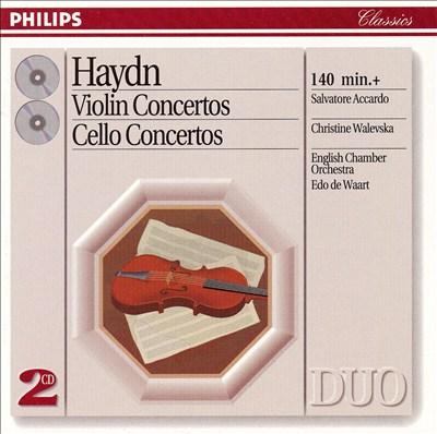 Haydn: Violin Concertos; Cello Concertos