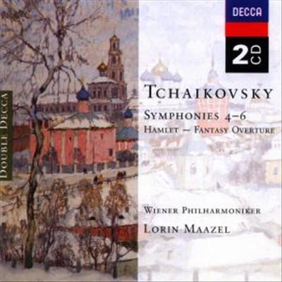 Tchaikovsky: Symphonies Nos. 4 - 6; Hamlet Fantasy Overture [Germany]