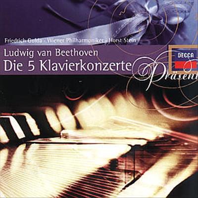 Beethoven: Piano Concertos Nos. 1 - 5, Piano Sonatas Nos. 23 & 24 [Germany]