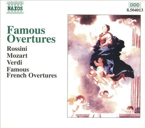 Famous Overtures (Box Set)