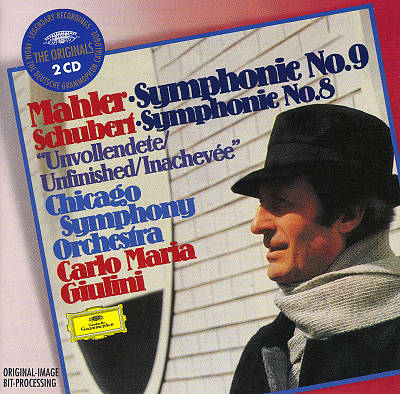"Mahler: Symphony No. 9; Schubert: Symphony No. 8 ""Unvollendete"""