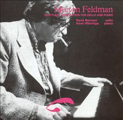 Untitled Composition for Cello & Piano, 1981