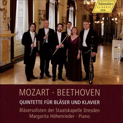 Mozart, Beethoven: Quintette für Bläser und Klavier