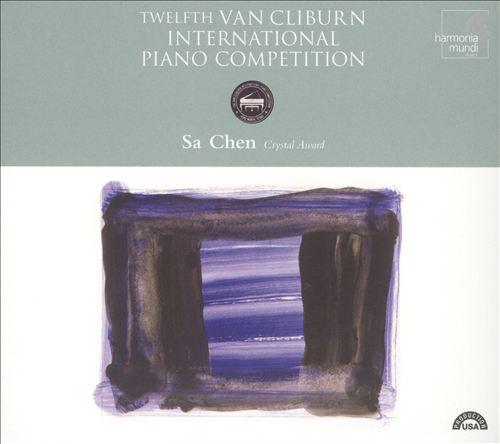 Twelfth Van Clibrun International Piano Competition: Sa Chen, Crystal Award