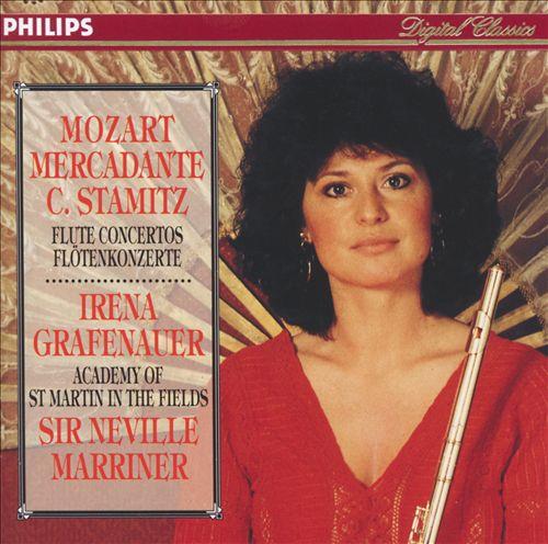 Mozart, Stamitz, Mercadante: Flute Concertos