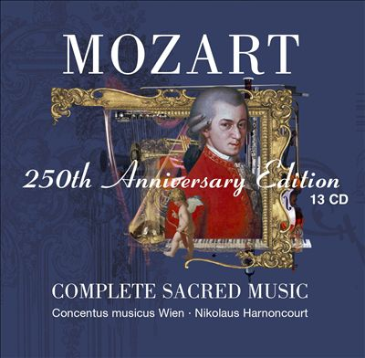 Mozart 250th Anniversary Edition: Complete Sacred Music [13 CD]