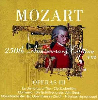 Mozart 250th Anniversary Edition: Operas III
