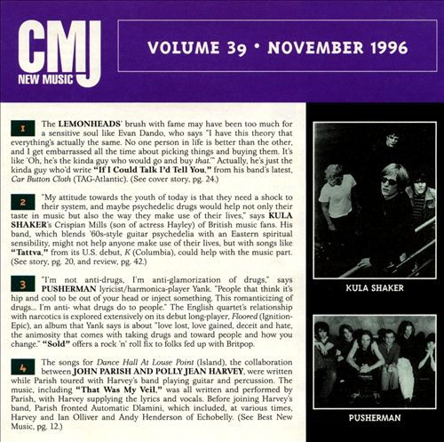 CMJ New Music, Vol. 39
