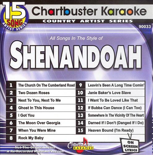Chartbuster Karaoke: Shenandoah, Vol. 1