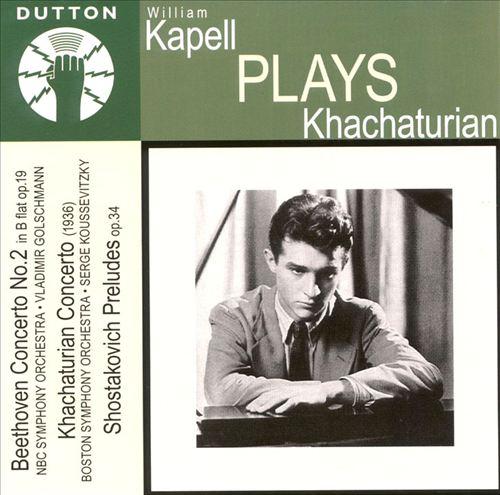 William Kapell Plays Khachaturian