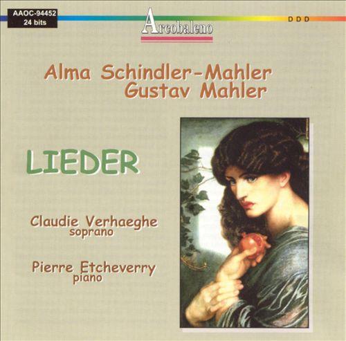 Alma Schindler-Mahler, Gustav Mahler: Lieder