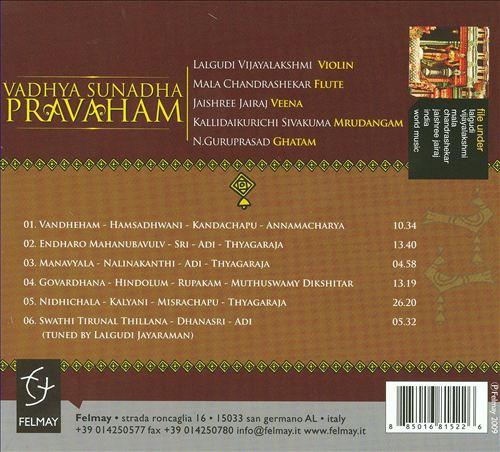 Vadhya Sunadha Pravaham