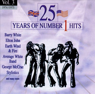 25 Years of Number 1 Hits, Vol. 3