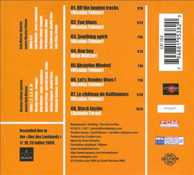Off the Beaten Tracks, Vol. 1: Live Au Duc Des Lombards