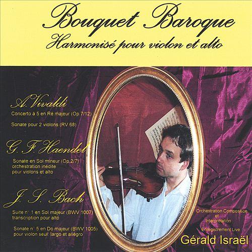 Bouquet Baroque: Harmonisé pour violon et alto
